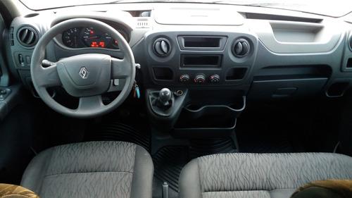 master 2017 l3h2 minibus16 lug r$140.000 km ac troca, finan