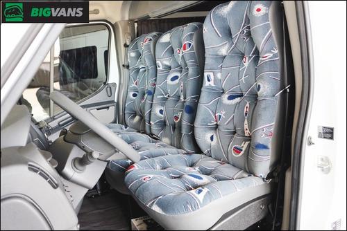 master 2020 l3h2 0km cabine dupla mista 9 passageiros branca