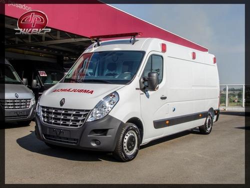 master 2.3 ambulância l2h2 uti móvel 0km