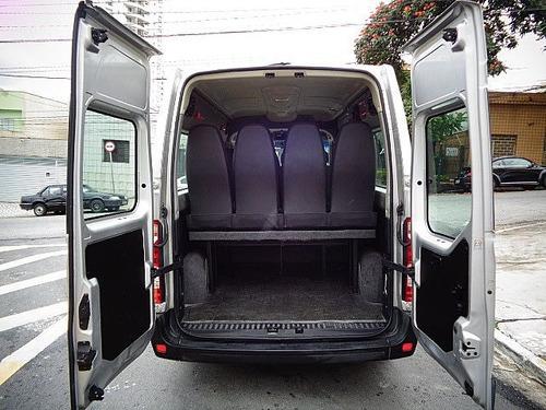 master 2.3 dci minibus l2h2 13 lugares 2015 - f7 veículos