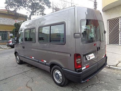 master 2.5 dci minibus l2h2 10 lugares 2008 - f7 veículos