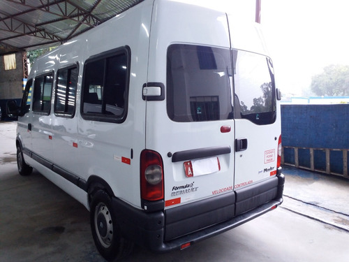 master 2.5 minibus16l ,l2h2 (jaed tur) 2013 financia confira