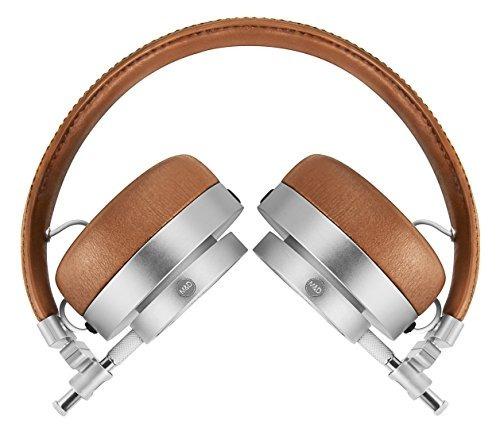 master  auriculares dynamic mh30 on ear  marrón