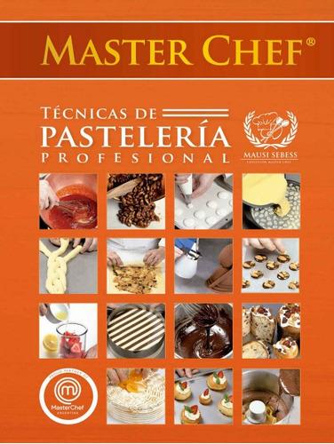 master chef  ebook técnicas de cocina panadería pastelería