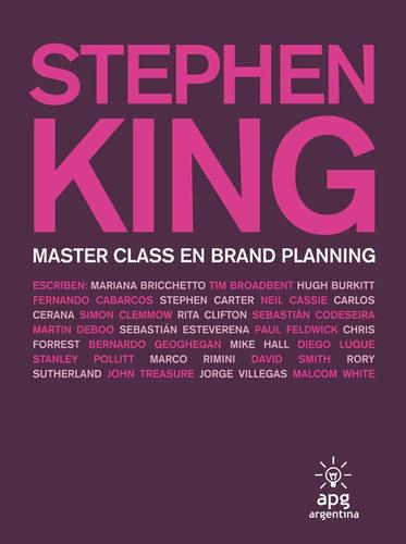 master class en brand planning