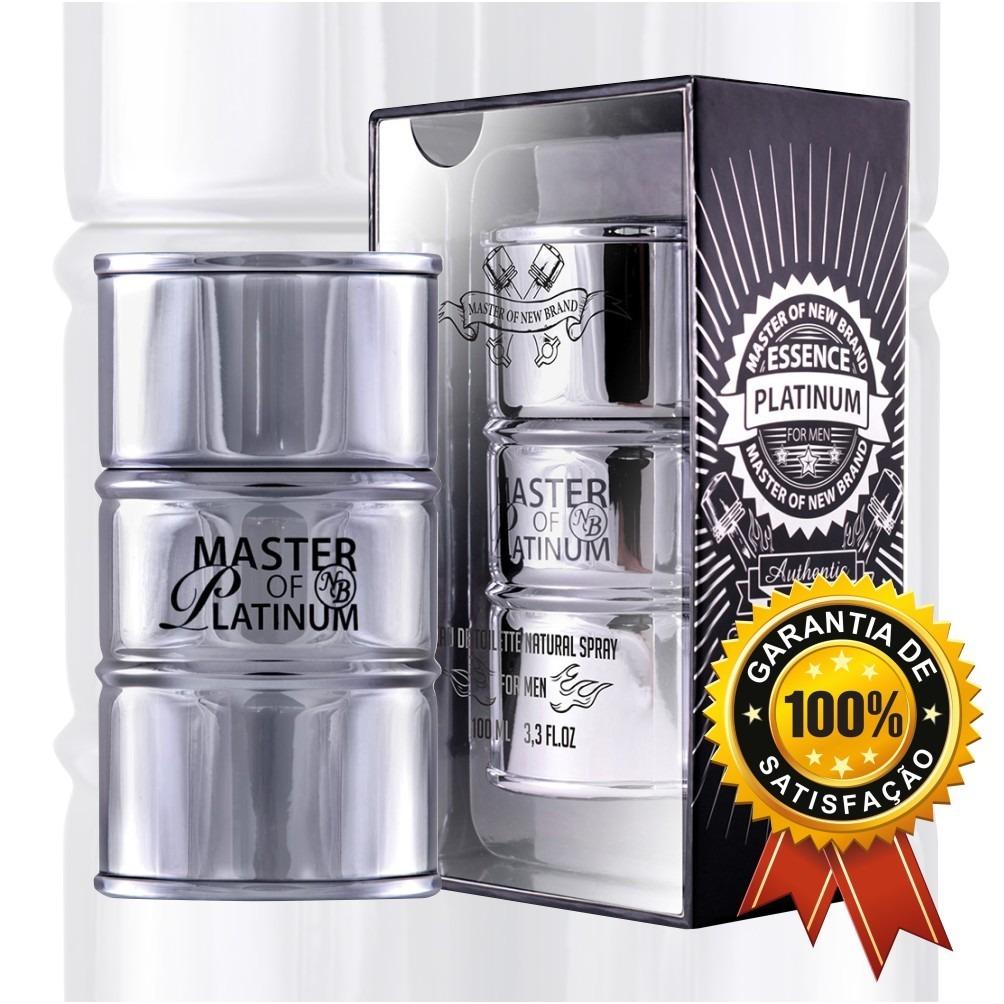 dda599c48b master essence platinum new brand - perfume masculino 100ml. Carregando  zoom.