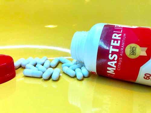 master lip - original 30 cápsulas + brinde