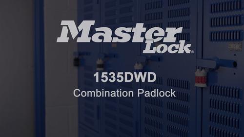 master lock - candado con combinación de palabras y candado,