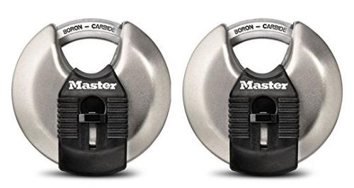 master lock m40xthc 2-3 / 4  magnum disco de bloqueo (2 cond