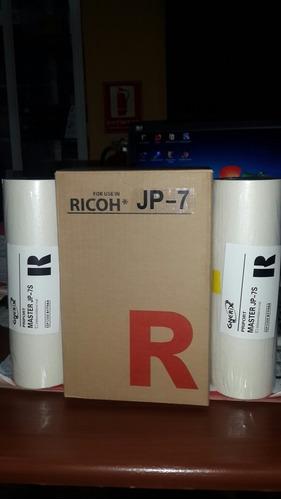 master ricoh jp 7