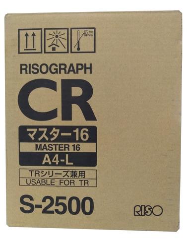 master riso cr - tr 1610 / por pieza