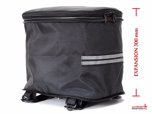 masterbag original maleta colin moto porta casco fz pulsar