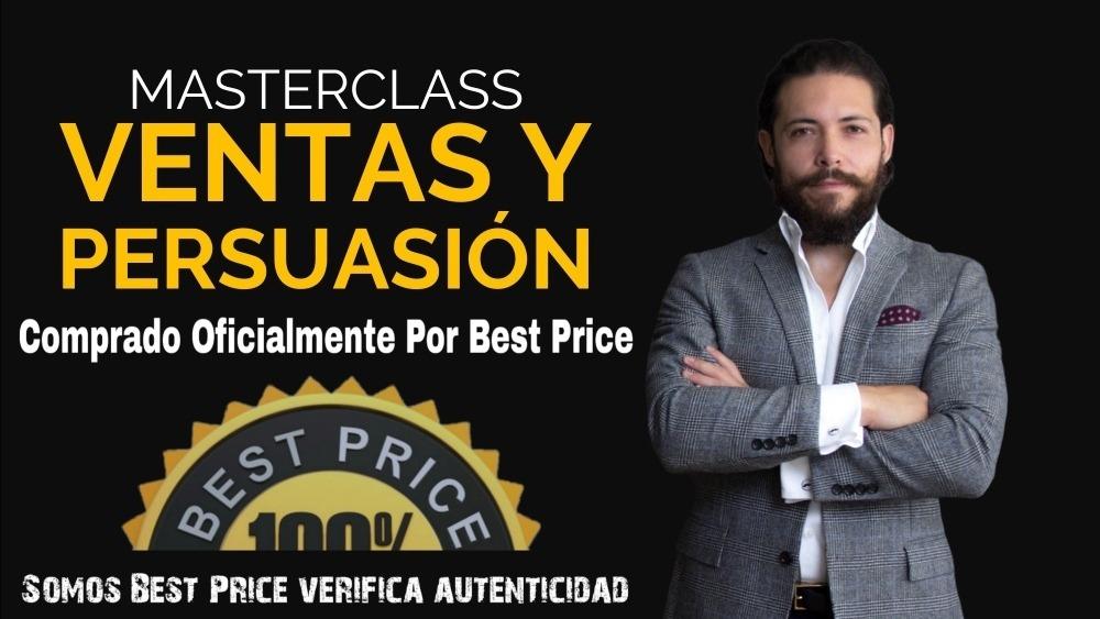 Masterclass Ventas Y Persuasión - Gerry Sanchez [best Price]