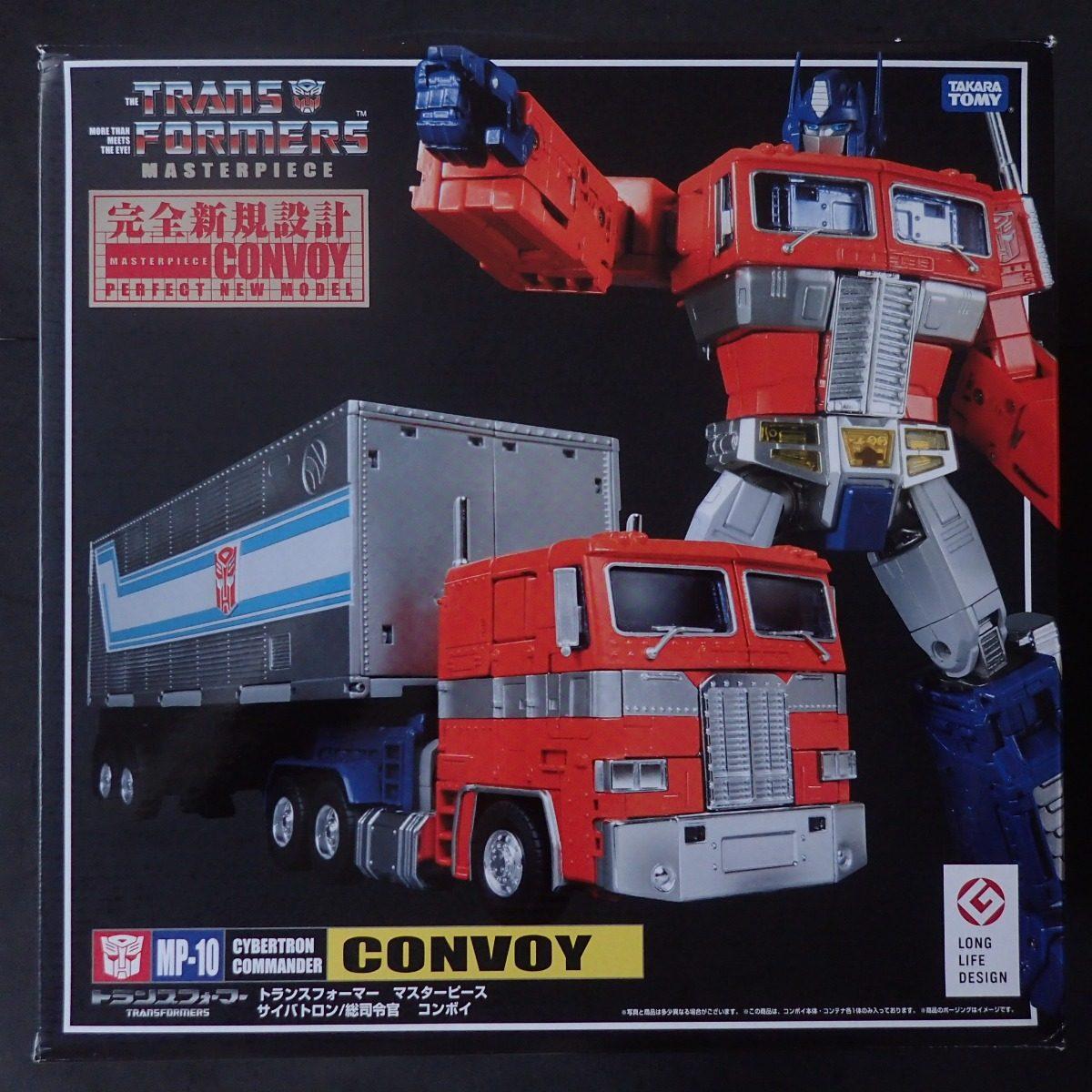 Masterpiece 10 Transformers Optimus Prime Convoy Takara Tomy R Mp Carregando Zoom