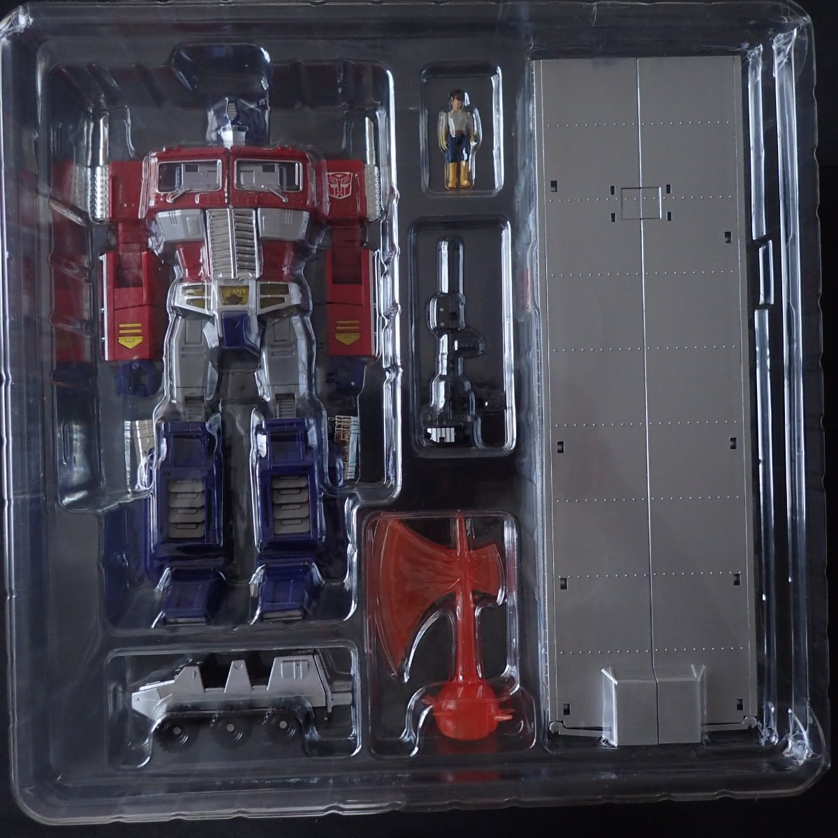 Masterpiece Mp 10 Transformers Optimus Prime Convoy Takara R Carregando Zoom