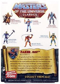 masters of the universe classics motu - faker - mattel