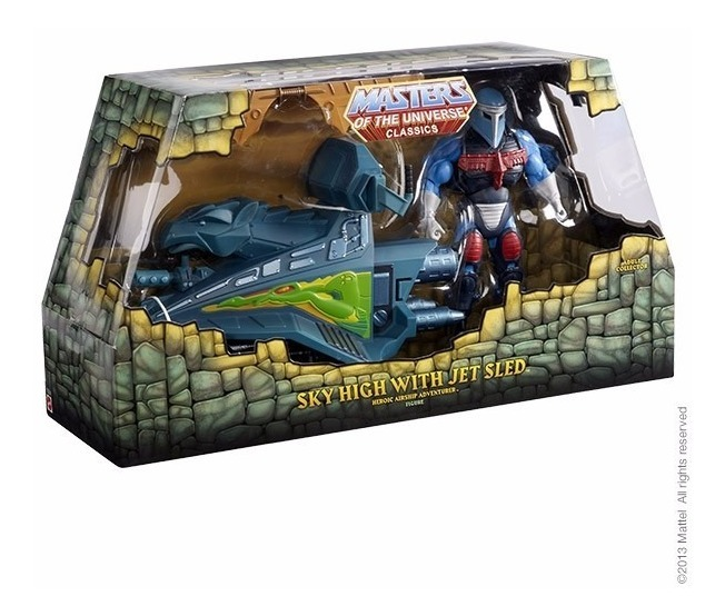 Masters Of The Universe Classics Sky High With Jet Sled