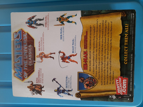 masters of the universe he-man classics action figure