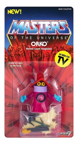 masters of the universe he-man vintage orko super7