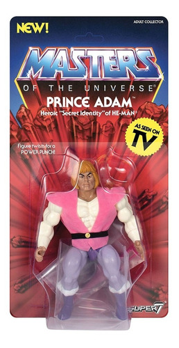 masters of the universe he-man vintage - prince adam super7