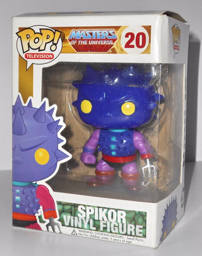 masters of the universe - spikor - funko - difícil!