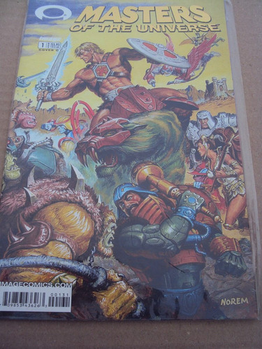 masters of universe # 01 - he-man - importada - cover c