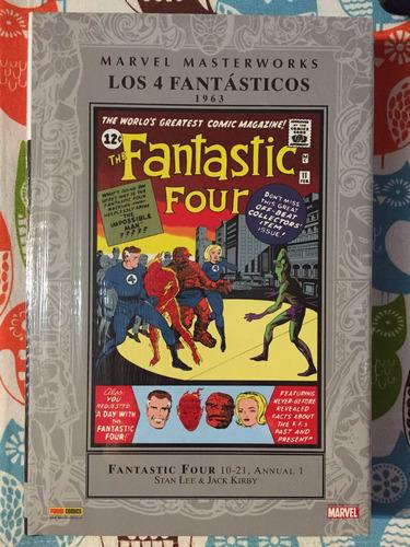 masterworks fantastic four 1963 stan lee & jack kirby tomo tapa dura