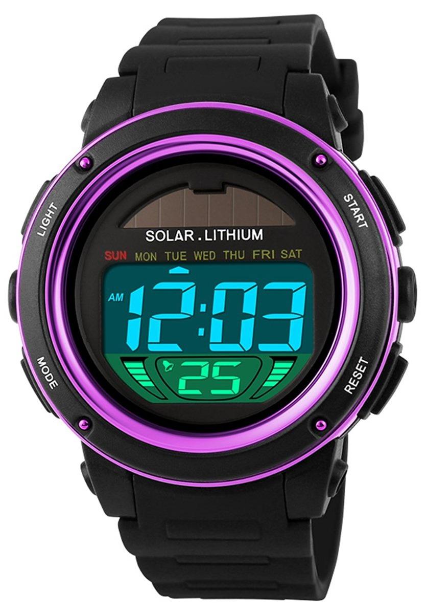 mastop reloj energía solar para mujer deportivos para niñas. Cargando zoom. 6429223731c7