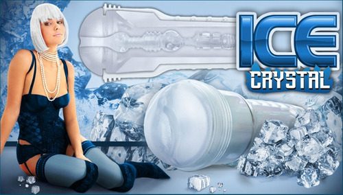 masturbador fleshlight ice textura crystal