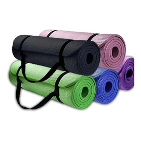 Mat 10 Mm Yoga Pilates Extra Grueso, Largo