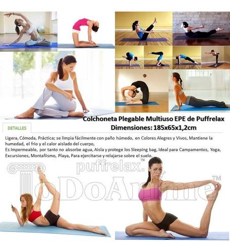 mat alfombra yoga pilates 12mm colchoneta bulto 15 unidades