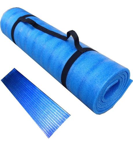 mat alfombra yoga pilates 6mm colchoneta camping puffrelax