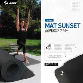 Mat Colchoneta Grueso 7mm  Yoga  Entrenamiento Ejercicios