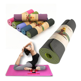 Mat Yoga Eco Friendly 6mm Colores Td Lince