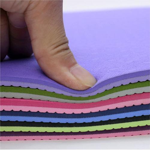mat yoga eco friendly 6mm colores td lince