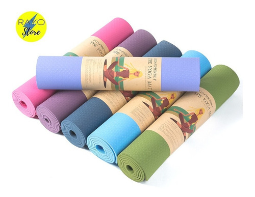 mat yoga ecologico ecoamigable ecofriendly premium