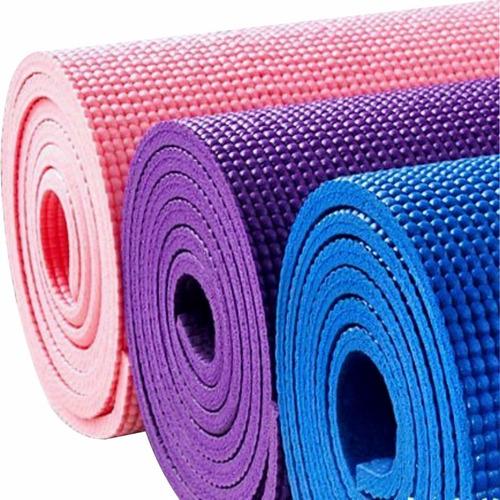 mat yoga pilates fitness - colchoneta antideslizante 6 mm.