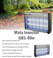 mata insectos eléctrico moscas mosquitos cubre 200 mts2