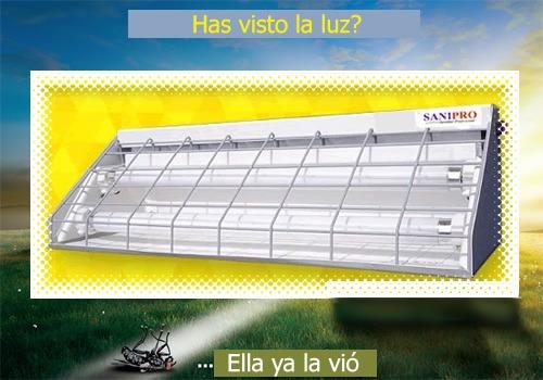 mata moscas, mata insectos moscas mosquitos 150 m².30 wats