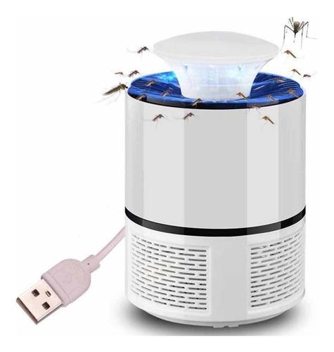 mata mosquitos eléctrico lampara led usb hogar envio gratis