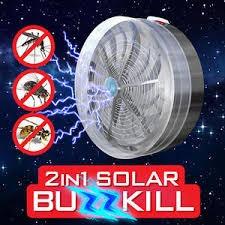 mata mosquitos solar buzzkill no consume energia