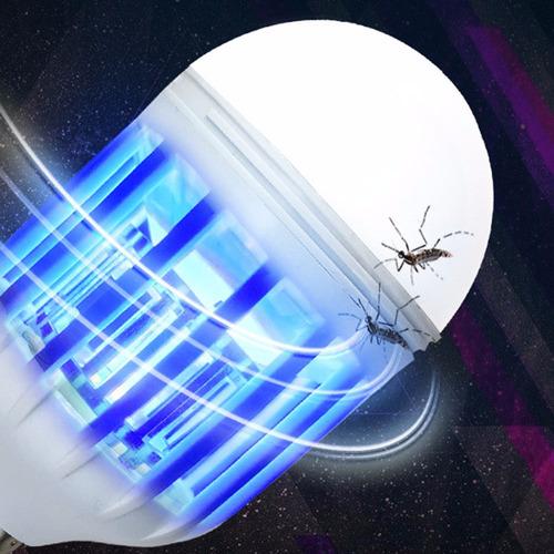 mata zancudos moscas mosquitos electrico foco led