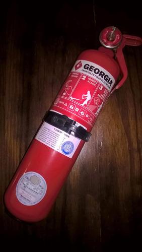 matafuego georgia 1kg reglamentario (venció el 9/2016)