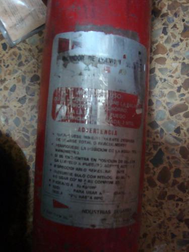 matafuego usado antiguo 2,5kg  moron