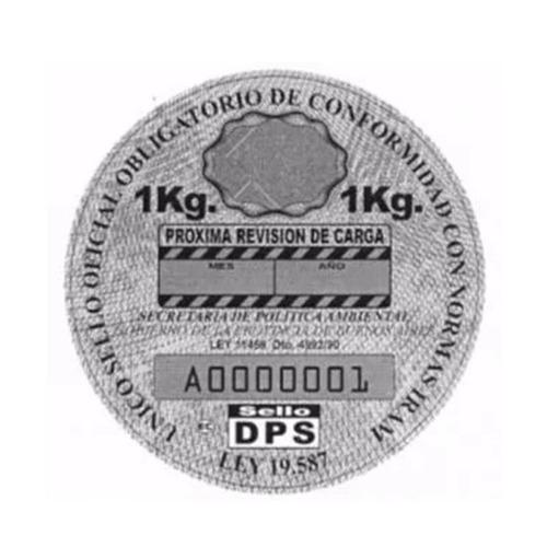 matafuegos nuevos polvo 1 kg abc para auto reglamentario