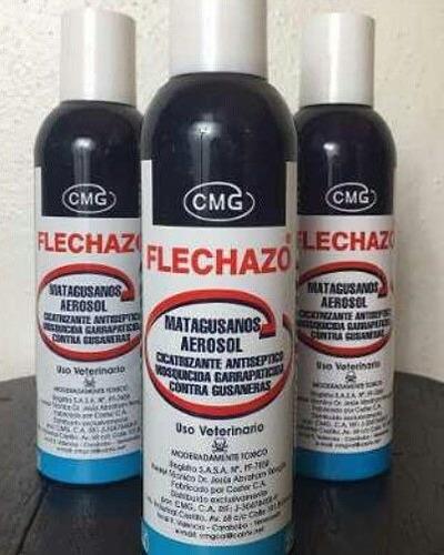matagusano flechazo 354 ml