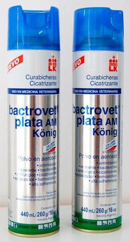 matagusanos en spray bactrovet plata am 440ml. (25v)