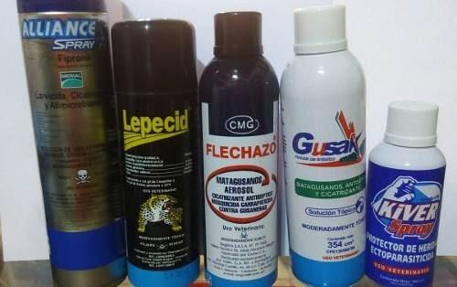 matagusanos spray todas las marcas