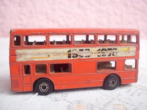 match box-omnibus ingles 1972