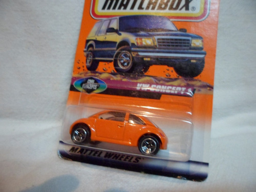 matchbox 1/64 volkswagen concept 1 novo